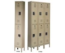 DOUBLE-TIER LOCKERS