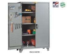 12 GA. CABINETS WITH PEGBOARD DOORS